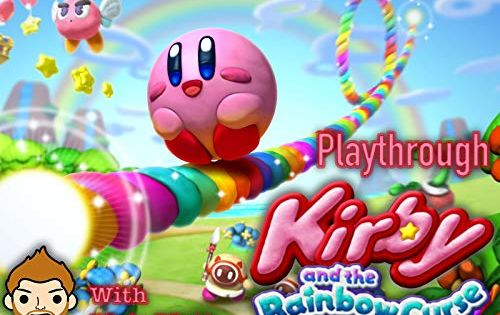 Kirby And The Rainbow Curse Playthrough With Mojo Matt Curse Rainbow Kirby Matt Kirby