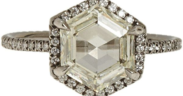 Monique Péan Hexagon Diamond Ring