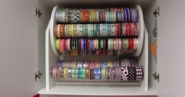 Ribbon Big Daddy Ribbon Caddy Also Made To By Pattyspaperprojects