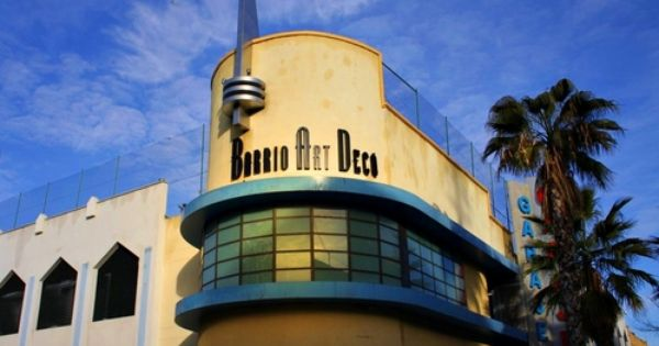Barrio art deco madrid spain artdeco architecture - Art deco espana ...