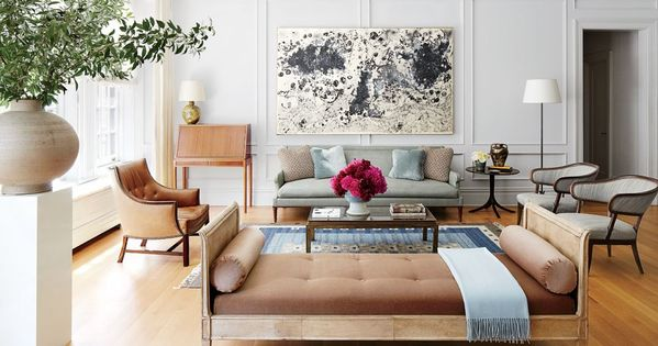 Living Room - Project Runway Judge Nina Garcia's Manhattan Home : Architectural