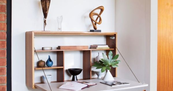 8 Wall Mounted Desks And Built In Work Surfaces That Will