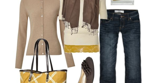 perfect fall outfit - love the bag!!