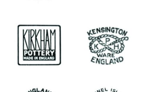>logo inspiration vintage ceramic back stamps