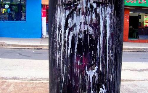 painted tree • street art