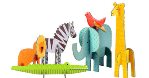 Pop Out And Play Safari Safari Animals Art Projects Safari