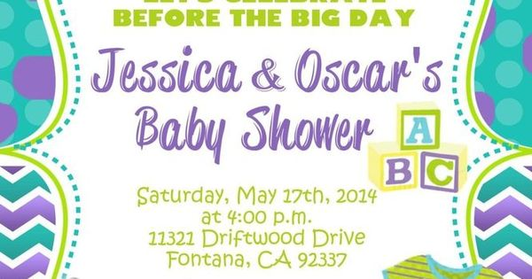 inc baby shower invitation mob01 monsters inc baby monsters inc