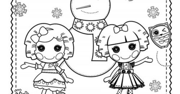Lalaloopsy Coloring Pages Pdf : Celebrate the season with this lalaloopsy hoilday coloring