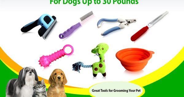 Dog Grooming Tools Medium Pets Up To 30 Lbs Deshedding Nail Clipper Rasp Flea Comb Teeth Massager Folding Bowl Giraffe Toy Dog Grooming Tools Pet Grooming Tools Dog Grooming