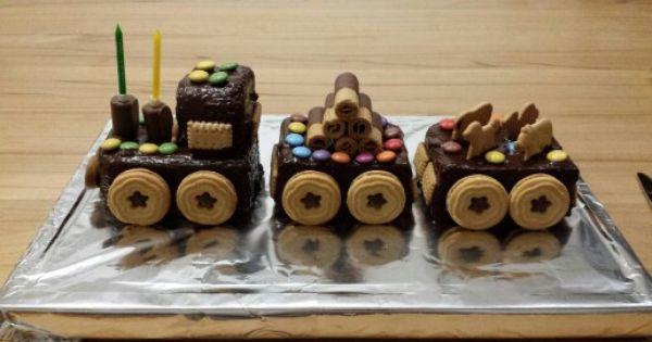 Zug Kuchen Ganz Leicht Gemacht Einen Ruhrkuchen In Einer Kastenform Backen Nach Dem Abkuhlen Zug Kuchen Kindergeburtstag Kuchen Zug Kuchen Kindergeburtstag