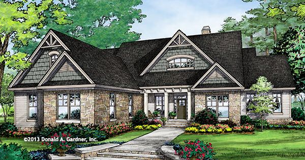 New plan the rainey plan 1306 d perfect for sloping Hillside house plans for sloping lots