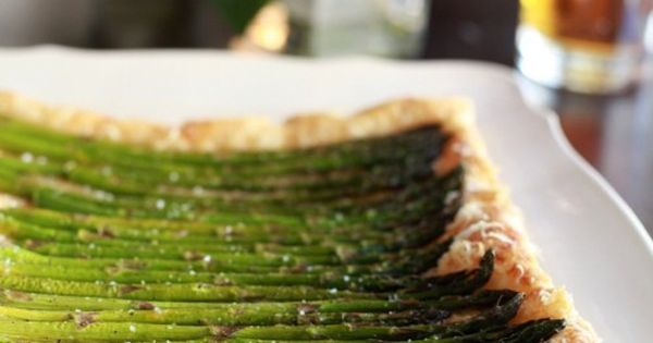 Asparagus Gruyere Tart | Sugarlaws | food: starters | Pinterest ...