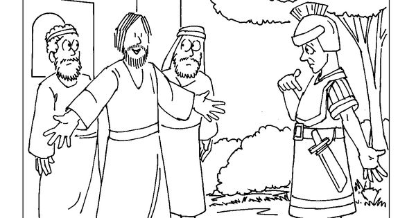 centurion servant coloring pages - photo#15