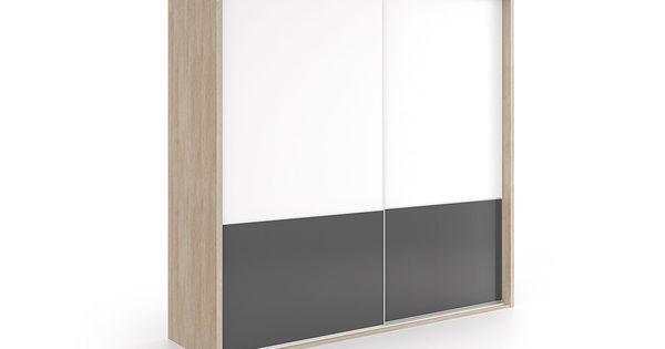 Armario dos puertas correderas de una anchura disponible - Armario de una puerta ...
