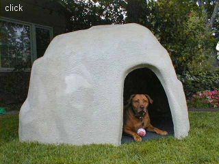 Our Dog House Looks Natural In Any Type Of Yard Or Setting