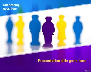 Free Human Resource Powerpoint Template Free Powerpoint Templates Business Ppt Templates Business Powerpoint Templates Human Resources