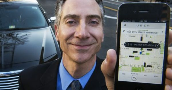 uber driver request
