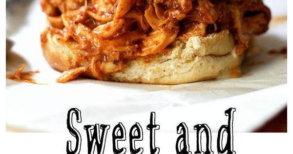 Sweet and Spicy Barbecue Chicken Sliders | Receta