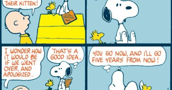 Snoopy Is Charlie Brown S Dog And They Have A Strange
