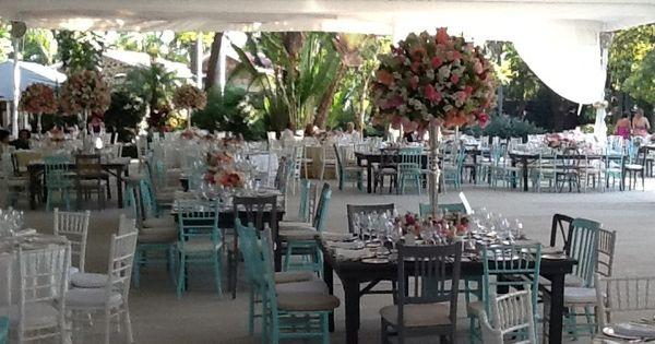 Decoraci n de boda boda jard n villa serrano claudia y Jardin villa serrano cuernavaca