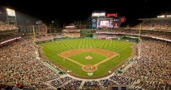 Nationals Park Washington Nationals Ballpark Ballparks Of Baseball Dengan Gambar
