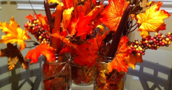 ... fall candles | Crafts | Pinterest | Fall Candles, Candles and Homemade