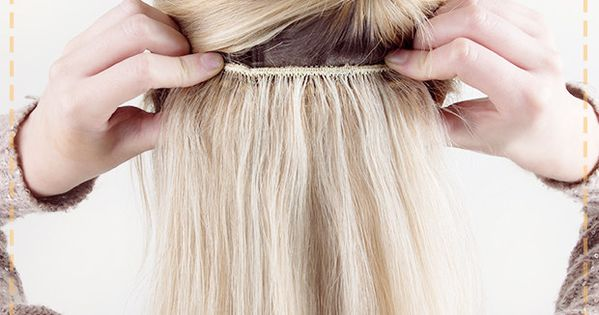 ... How to Apply Extensions Yourself - Wedding, Extensions hair and Style