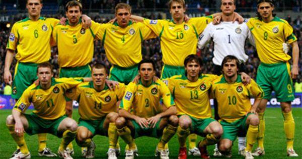Lithuania Europe Team Photos International Football Fifa