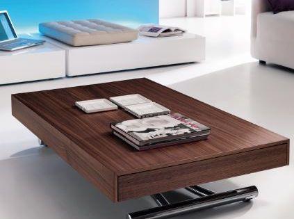 Table Basse Modulable Qui Se Transforme En Table Haute