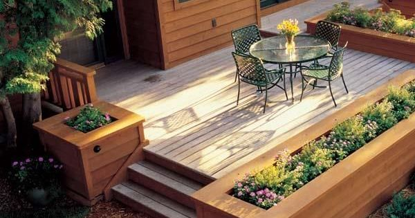 Built in planter ideas cobertizo ideas para el jard n y for Cobertizo para exteriores