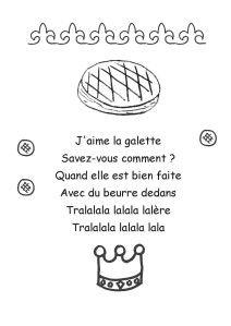 Chanson J Aime La Galette : chanson, galette, J'aime, Galette, Galette,, Comptine