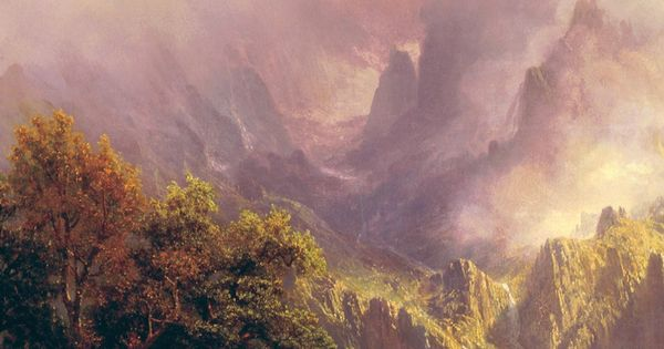 Albert bierstadt classic painting art iphone 6 plus - Classic art wallpaper iphone 5 ...
