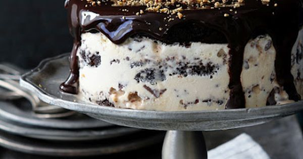 Reeses Brownie Ice Cream Cake. There are no words. Cake Recipe icecream