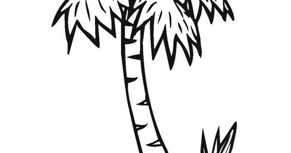 Chicka chicka boom boom coloring sheet chicka chicka for Chicka chicka boom boom palm tree template