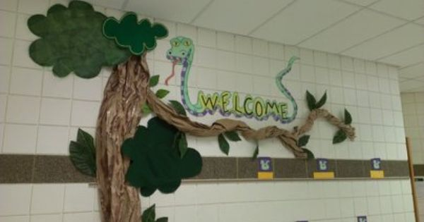 Cute Snake Welcome Display Classroom Display Class