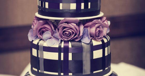 Tartan cake.