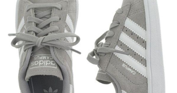 Kids' junior Adidas® Campus sneakers in grey : adidas   J
