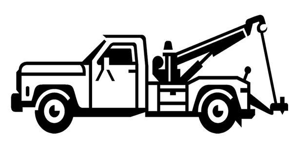 tow truck clip art