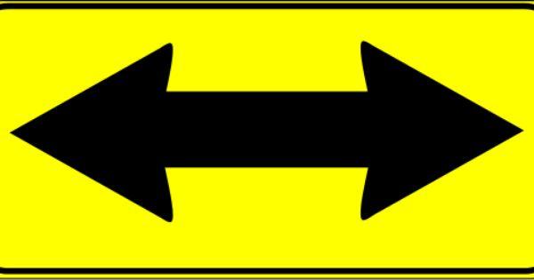 Double Arrow Sign Arrow Signs Symbols Arrow