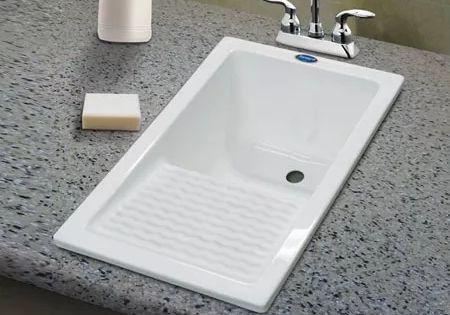Moderno lavadero vertical resina acrilica casa - Pilas lavadero pequenas ...