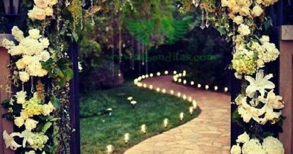 Ideas para decorar un arco con flores boda en un jard n someday pinterest arco jard n y Ideas para decorar un arco de boda