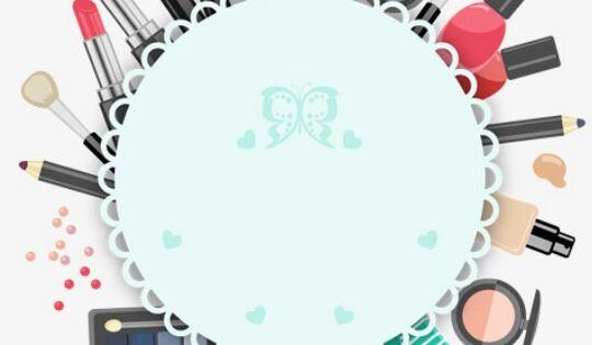 Pin Oleh Silvy Rubin Di Templates Pola Bunga Produk Makeup Kartu Nama Bisnis