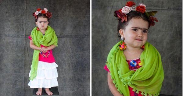 frida kahlo disfraz infantil 2 disfraces pinterest disfraces infantiles frida kahlo y frida. Black Bedroom Furniture Sets. Home Design Ideas