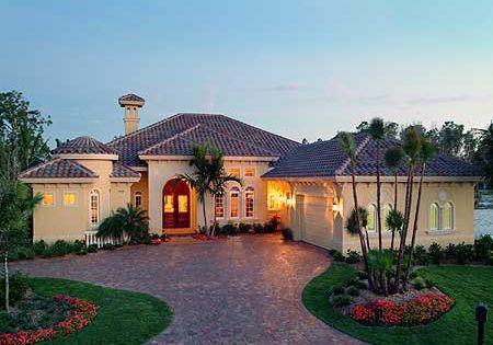 Home Design: Plan 24021BG: Courtyards And Lanais