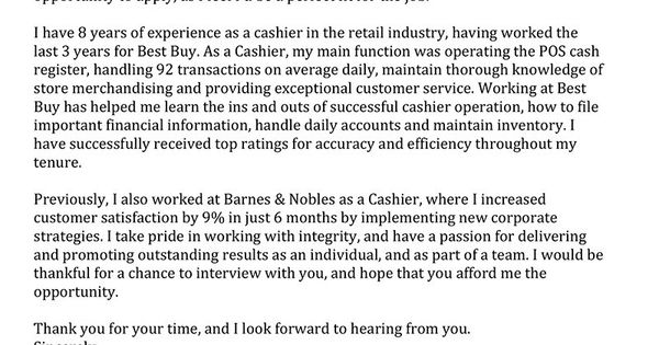 entry level bookkeeper cover letter