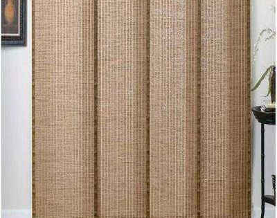 Woven Wood Panel Track In 2019 Woven Wood Shades Paint Colors