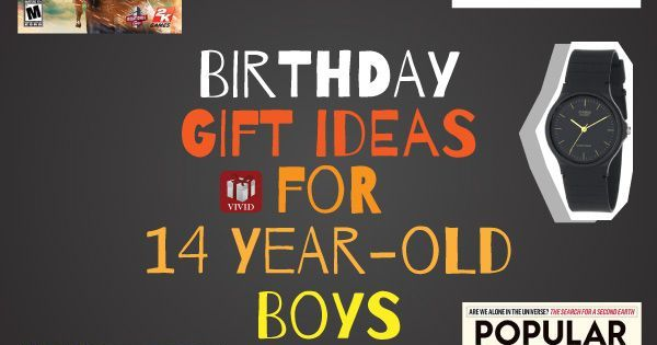 Birthday Gift Ideas for 12, 13, or 14 Year Old Boy He'll ...