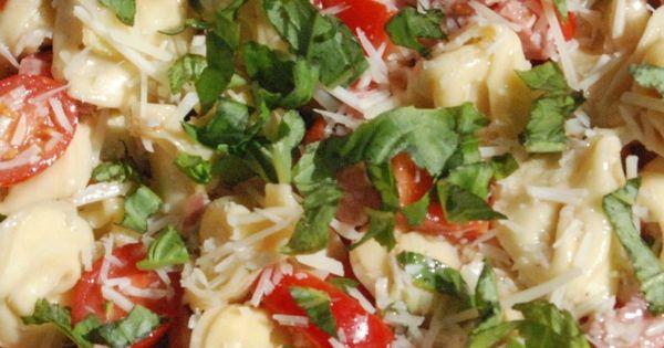 Summer Tortellini Salad Recipe salad side pasta recipe