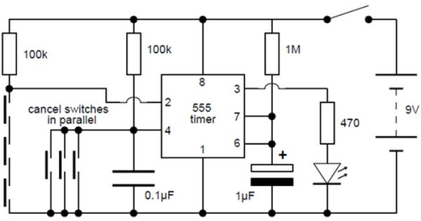 simple electronic lock circuit diagram check more at