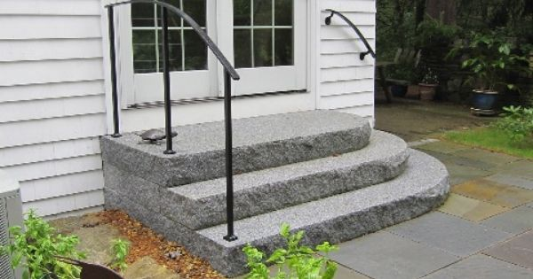 Best Walkways And Steps Railings Curved Granite Steps With 400 x 300